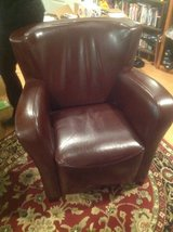 Pier One Leather Chair in Naperville, Illinois