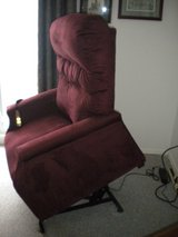 Lift chair/recliner PRICE REDUCED in Shorewood, Illinois