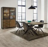 United Furniture - Herford DR (China with Lights -Table 180 - 4 x Chairs - delivery) in Grafenwoehr, GE