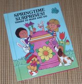 Vintage 1986 Springtime Surprises Things To Make and Do Hard Cover Book of Fun and Creative Ideas in Joliet, Illinois