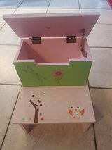 Young Girls Step Stool (with storage drawer) in Stuttgart, GE