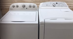 Whirlpool washer and Whirlpool cabrio electric dryer in Alamogordo, New Mexico