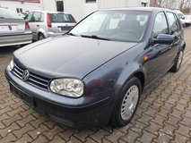 VW golf manual JUST PASSEND INSPECTION in Ramstein, Germany