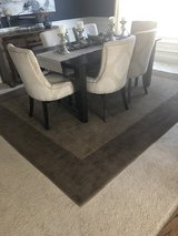 Pottery Barn wool area rug in Shorewood, Illinois