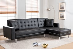 NEW COOL LOOKING SECTIONAL SLEEPER FREE DELIVERY in 29 Palms, California