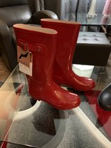 Rain or farm boots (red and blue) New! in Byron, Georgia