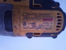 DeWalt drill in Nellis AFB, Nevada