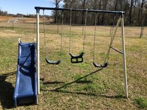 Swing set for toddlers in Byron, Georgia