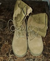 Combat boots in 29 Palms, California