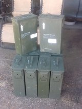Ammo Cans in Fort Polk, Louisiana