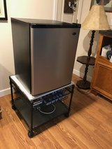 Small fridge with stand in Glendale Heights, Illinois