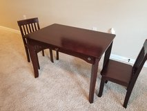 Kids' table w/ 2 chairs in Houston, Texas
