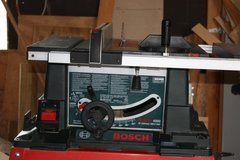"Bosch 4000 10"" Table Saw with Stand in Alamogordo, New Mexico"