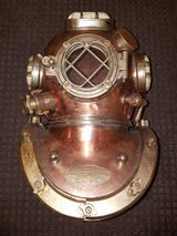 Vintage Reproduction Mark 5 Full Size Dive Helmet in Great Lakes, Illinois