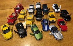 Variety of Diecast Cars in Shorewood, Illinois