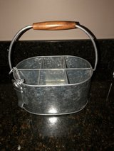 Pottery Barn Galvanized 6 Pack Carrier with Opener in Aurora, Illinois