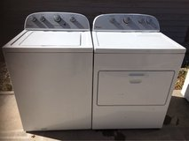Whirlpool washer and electric dryer set in Alamogordo, New Mexico
