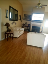 3pc Leather living room suite in Warner Robins, Georgia