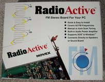 Vintage RadioActive FM Stereo Board for PC in Chicago, Illinois