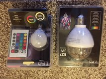 color changing light bulbs - brandnew in Ramstein, Germany