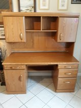 a desk is  in great condition very nice in Kingwood, Texas
