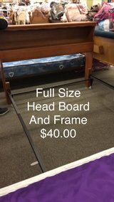 Full Size Head Board and Frame in Fort Leonard Wood, Missouri
