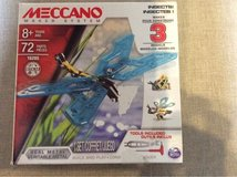 Meccano maker system set - 3 models dragonfly /insects in Cambridge, UK