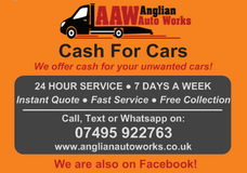 SCRAP MY CAR – JUNK MY CAR – SELL MY CAR & VEHICLE RECOVERY – Mildenhall, Feltwell, Lakenheath 0... in Lakenheath, UK
