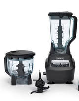 Ninja blender system USED but the (72 oz pitcher/blade are NEW) in Oswego, Illinois
