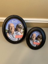 Black round photo frames - 2 frames in Houston, Texas