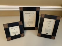 Black photo frame set - 3 frames in Houston, Texas