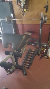 Complete weight bench press in Leesville, Louisiana