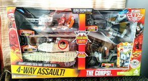 The Corps! Giant 4-Way Assault Toy Set in 29 Palms, California