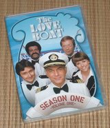 The Love Boat Seaso One Volume 1 DVD 3-Disc Set in Morris, Illinois