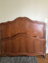 Full Size Maple Bed - Headboard, Footboard and Frame in Naperville, Illinois