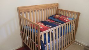 Convertible crib/toddler bed in 29 Palms, California