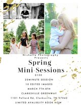 Mini-Spring Session in Clarksville, Tennessee