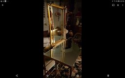 Vanity Gold Leaf & Mirror Frame in Travis AFB, California