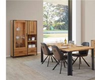 United Furniture - Hamburg Dining Set (China + Table 200 + 4 Chairs mod.ST1902 + Delivery) in Grafenwoehr, GE