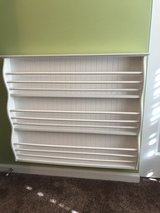 Pottery Barn book shelf in Naperville, Illinois