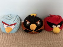 Angry Birds plush in Naperville, Illinois