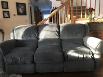 Couch with reclining ends in Travis AFB, California