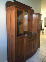 Antique buffet china cabinet in Kingwood, Texas