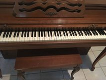 Small spinet piano in Kingwood, Texas