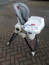 Fisher Price Adjustable High Chair in Lakenheath, UK