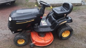 Poulan 46 inch  cut riding lawn mower for sale in Leesville, Louisiana