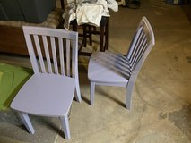 Set of Pottery Barn Kids Chairs (Purple) in Naperville, Illinois