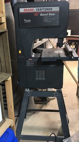 "Sears Craftsman 10"" Band Saw with Leg Stand in Naperville, Illinois"