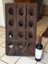 Old French  wooden Champagne holder double-sided for 24 bottles in Fort Belvoir, Virginia