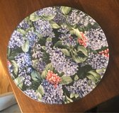 Floral Plate in Batavia, Illinois